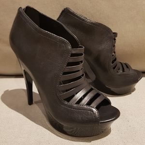 BCBG black SADE heels